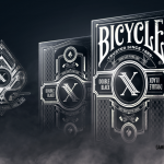 BICYCLE DOUBLE BLACK Playing Cards. The second edition of Gambler's classic