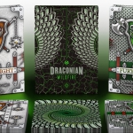 DRACONIAN and KNIGHTS Playing Cards. Eternal rivals together in a limited edition