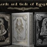 LORDS AND GODS OF EGYPT Playing Cards. The divine and the earthly in three fantastic decks