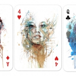 Artist Playing Cards. Let's drink some tea or, better, let's enjoy it in these amazing portraits