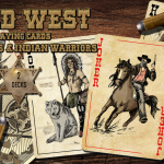 Wild West Playing Cards. The decks that will cross the Mississippi