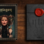 ANTAGON ROYAL Playing Cards. The last and best version of the powerful medieval women