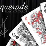 MASQUERADE Playing Cards. The second deck of Brain Vessel's Artist Series