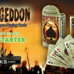 BICYCLE ARMAGEDDON Playing Cards. The future in ruins in the hands of fierce survivors