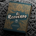 EL RECUERDO Playing cards. Mexican culture and history beautifully illustrated