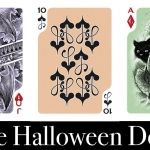 THE HALLOWEEN DECK. Inspired by tradition and illustrated from the heart