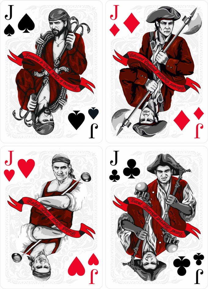 CARIBBEAN WIND Playing Cards  Board them! - Max Playing Cards