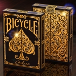 BICYCLE DELUXE Playing Cards. The refined and luxurious gold