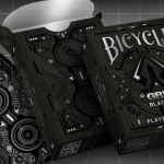 BICYCLE GRID BLACKOUT Playing Cards. The last one of a visionary series
