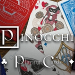 PINOCCHIO Playing Cards. If you say you do not like them, your nose will grow