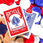 BICYCLE FARO Playing Cards. A novelty without indexes for your magic routines and card games