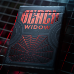 BLACK WIDOW Playing Cards: An elegant and dangerous reality