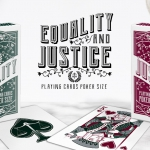 EQUALITY and JUSTICE Playing Cards. A fair relaunch