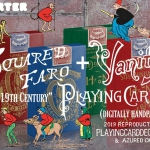 VANITY and FARO Playing Cards. Limited reproductions of decks full of history