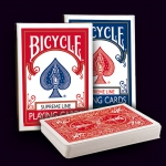 "BICYCLE SUPREME LINE Playing Cards. A ""rider back"" deck with many secrets for magic and cardistry"