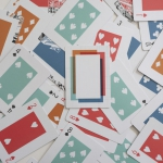 THE BOX AND LINE Playing Cards. A different deck, contemporary and with a retro touch