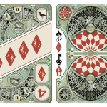 CLOCKWORK EMPIRE CITY Playing Cards. The deck and the passage of time