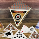 TRIANGLE Playing Cards. An equilateral deck