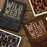 WILD WEST Playing Cards. Decks with authentic Far West flavor