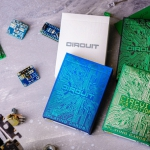 CIRCUIT Playing Cards. Inspired by modern technology with a retro touch