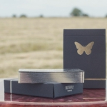 BUTTERFLY BLACK Playing Cards. The most beautiful insect now with metallic shine
