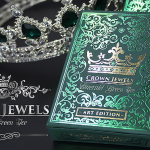CROWN JEWELS EMERALD Playing cards . The dazzling beauty of the Green Ice