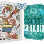 CAPRICORN Playing Cards. The first of a series of 12 zodiac, multicultural and animated decks