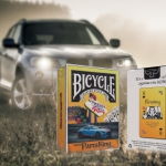 BICYCLE PARTSKING promotional Playing Cards. The Canadian king of auto parts