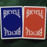 BICYCLE INSIGNIA BACK Playing Cards. The new generation of Bicycle cards with the most traditional RED and BLUE