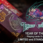 LUNAR AND ZODIAC: YEAR OF THE OX Playing Cards. The third deck of the Chinese zodiacal series