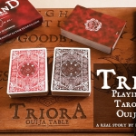 TRIORA Playing Cards. The story of a bloody witch hunt
