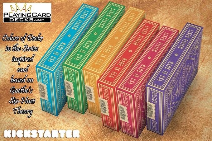 Cartes à jouer ALMANAC # 1 de COTTA : une série historique 17