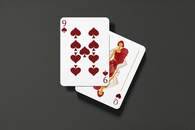 """""""GUNS, JAZZ & WHISKY"""" : cartes à jouer au style """"Années folles"""" 9"""