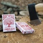 "Baraja Bicycle ""Lumberjacks"" (leñadores). ¡Más madera!"