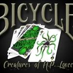 """Baraja Bicycle """"Las criaturas de H.P. Lovecraft"""". ¡Cthulhu ataca de nuevo!"""