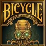 Baraja Bicycle Steampunk Cthulhu. Dos en uno