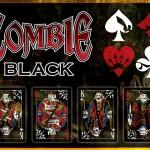 Baraja negra Zombie. ¿Más zombies? ¡Socorro!