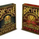 La historia detrás del trabajo de Nat Iwata y su última baraja Bicycle: Steampunk Pirates