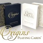 Origins. La historia y la tradición de los naipes en dos barajas de diseño moderno