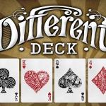 Secretos sobre la baraja Diferente. Sin complementos, sólo cartas, pero diferentes y muy frescas