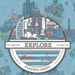 Baraja Explore. La vuelta al mundo en 52 cartas