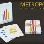 Naipes Metropol LUX. Nuevas ediciones de la baraja minimalista