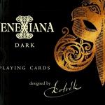 Naipes Venexiana Dark. La sórdida e inquietante cara enmascarada de Venecia