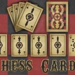 Naipes Chess. Pon tus cartas en el tablero de ajedrez