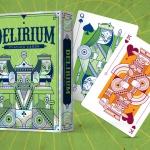 Delirium Playing Cards. La baraja del Delirium Tremens vectorial