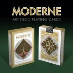 Naipes Moderne Art Deco. La belleza de la simplicidad geométrica