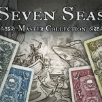 Naipes Seven Seas Master Collection. Piratas contra Criaturas Marinas