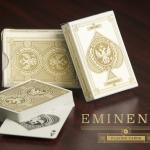Naipes EMINENCE. Un estilo oro y plata clásico pero desenfadado