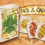 Naipes Jack in the Green. Naturaleza y mitología llenas de color