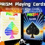 Naipes PRISM DAY y DUSK. Una trilogía de brillante relieve